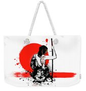 Trash Polka - Female Samurai Weekender Tote Bag