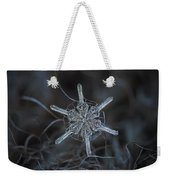 Snowflake Photo - Steering Wheel Weekender Tote Bag