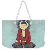Electric Buddha Weekender Tote Bag