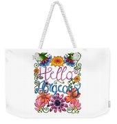 Hello Gorgeous Plus Weekender Tote Bag
