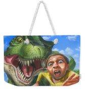 Tyrannosaurus Rex Jurassic Park Dinosaur - T Rex - Paleoart- Fantasy - Extinct Predator Weekender Tote Bag