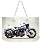 Harley Model Vd 1935 Weekender Tote Bag