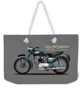 Triumph Thunderbird 1955 Weekender Tote Bag
