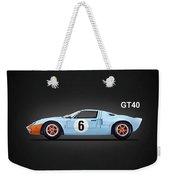 The Gt40 Weekender Tote Bag