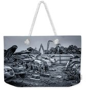 Last Journey - Salvage Yard Weekender Tote Bag