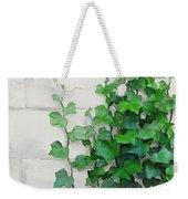 Vines By The Wall Weekender Tote Bag