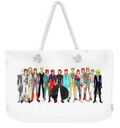 Outfits Of Bowie Weekender Tote Bag