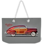 Chevrolet Fleetline 1948 Weekender Tote Bag