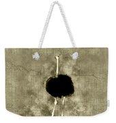 Ostrich Portrait Weekender Tote Bag