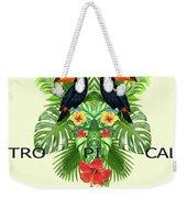 Tropical Summer  Weekender Tote Bag