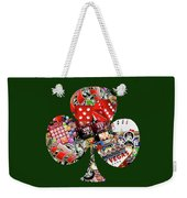 Club Playing Card Shape  Weekender Tote Bag