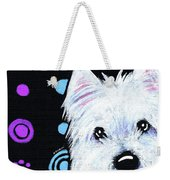 Kiniart Disco Westie Weekender Tote Bag