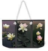 Lotus Collection II Weekender Tote Bag