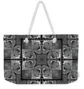 Great Gray Owl Stare Down Weekender Tote Bag