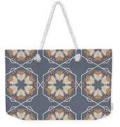 White Ibis Snowflake Weekender Tote Bag