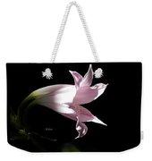 Lovely Lilies Bird In Flight Weekender Tote Bag