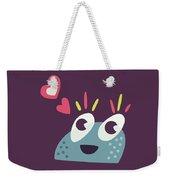 Kawaii Cute Cartoon Candy Character Weekender Tote Bag