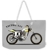 The Bsa 441 Victor Weekender Tote Bag