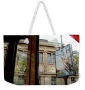 Paris Cafe Views Reflections Weekender Tote Bag