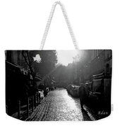 Evening Walk In Paris Bw Weekender Tote Bag