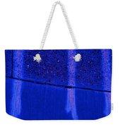 Blue Divide Weekender Tote Bag