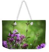 Lilac Memories Weekender Tote Bag