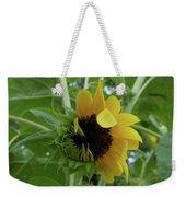Sunflower Rising Weekender Tote Bag by Kristin Aquariann