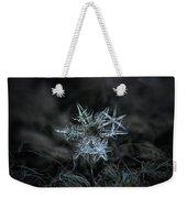 Snowflake Of 19 March 2013 Weekender Tote Bag