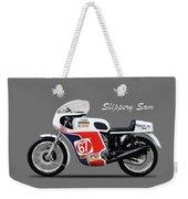 Slippery Sam Production Racer Weekender Tote Bag