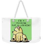 Cairn Terrier Sunshine Weekender Tote Bag