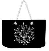 Snowflake Vector - Gardener's Dream Black Version Weekender Tote Bag