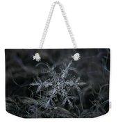 Snowflake 2 Of 19 March 2013 Weekender Tote Bag by Alexey Kljatov