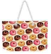 Donut Pattern Weekender Tote Bag