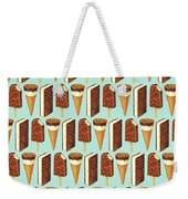 Ice Cream Novelties Pattern Weekender Tote Bag