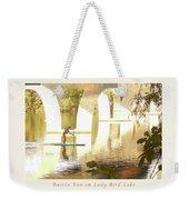 Austin Texas - Lady Bird Lake - Mid November Three - Greeting Card Weekender Tote Bag by Felipe Adan Lerma