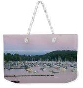 Sunrise Over Mallets Bay Variations - Two Weekender Tote Bag