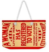 Equality Weekender Tote Bag