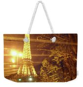Eiffel Tower By Bus Tour Weekender Tote Bag