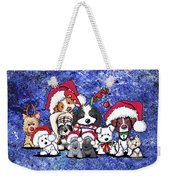 Kiniart Christmas Party Weekender Tote Bag