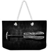Antique Shoe Stretcher Bw Weekender Tote Bag