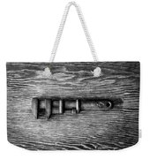 Antique Adjustable Wrench Bw Weekender Tote Bag