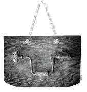 Bit Brace II Bw Weekender Tote Bag
