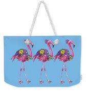 Fancy Felicity Flamingo Weekender Tote Bag