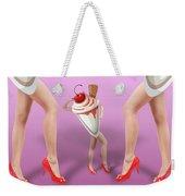 Ice Cream Woman 2 Weekender Tote Bag