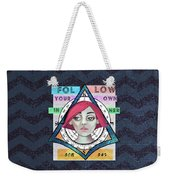 Follow Your Own Inner Compas Weekender Tote Bag