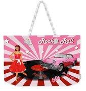 Rock'n Roll The Sweet Fifties Weekender Tote Bag