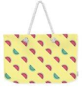 Summer Watermelons Weekender Tote Bag by Alina Krysko