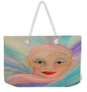 Bald Is Beauty With Brown Eyes Weekender Tote Bag