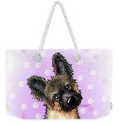 Kiniart Shepherd Puppy Weekender Tote Bag