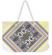 Hill Of Flowers Double Weekender Tote Bag